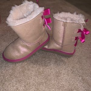 Kids Ugg Bailey bow boots